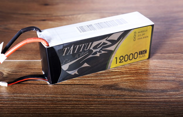 Tattu 12000mAh 15C 22.2V 通用无人机电池