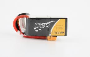 Tattu 1300mAh 14.8V 45C 4S1P FPV电池