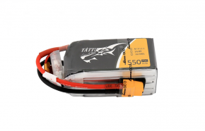 Tattu 1550mAh 14.8V 75C 4S1P FPV电池