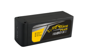 Tattu Plus 1.0 16000mAh 15C 22.2V智能飞行电池