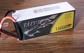 Tattu 16000mAh 15C 22.2V多轴航拍大疆零度智控无人机电池通用版