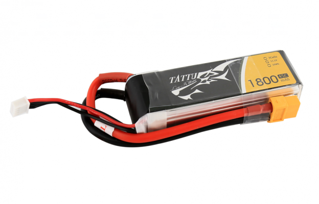 Tattu 1800mAh 11.1V 45C 3S1P FPV电池