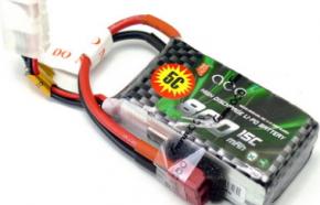 格氏ACE航模电池800mAh 15C 11.1V锂电池