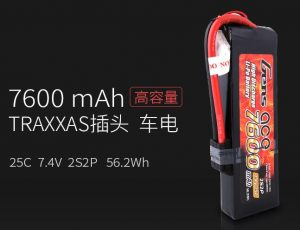 traxxas车用锂电池