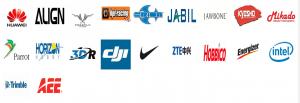深圳市格瑞普电池有限公司合作客户列表
