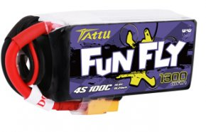 格氏ACE Funfly系列 1300mAh 100C 4S高倍率FPV软包配件穿越机专用锂电池 XT60
