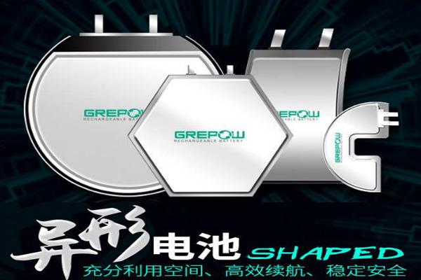 异形锂电池电芯