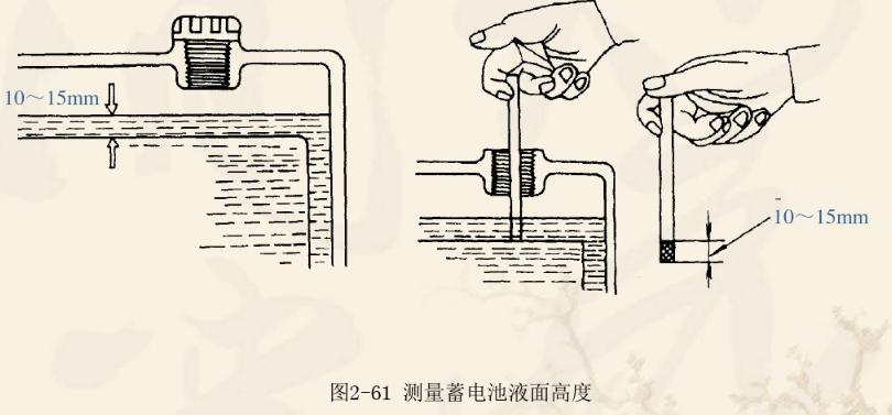 汽车蓄电池检查维护方法