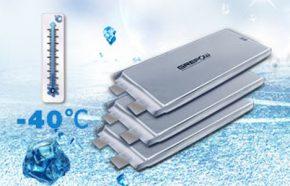 低温聚合物锂电池规格型号介绍