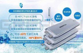 低温磷酸铁锂电芯规格型号