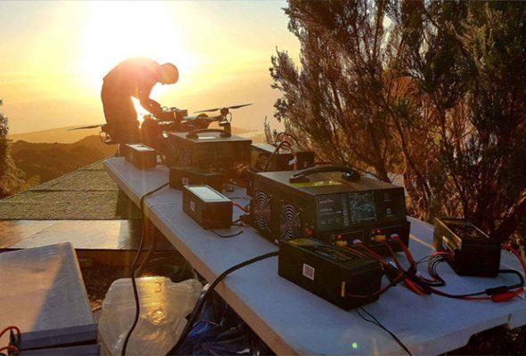 航拍摄影无人机电池