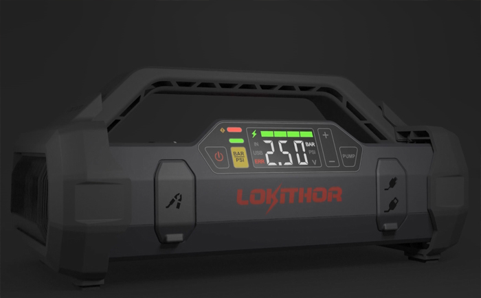 汽车应急启动电源品牌Lokithor
