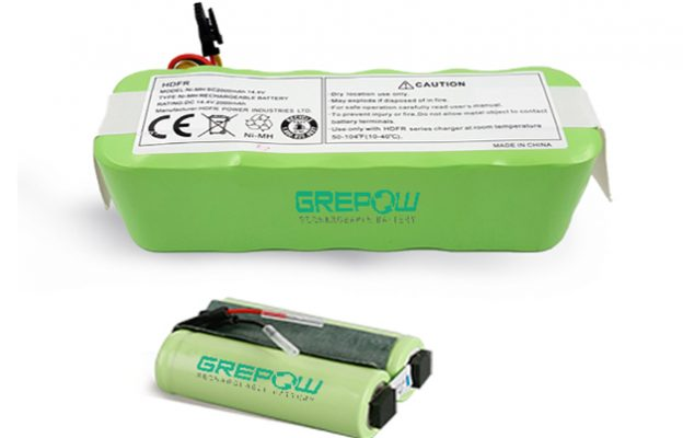 智能家用扫地吸尘机器人镍氢电池CR120 适用机器人型号VX500
