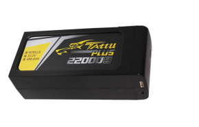 Tattu Plus 1.0 22000mAh 6s 25C 22.2V 智能飞行电池