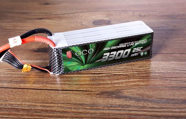 格氏ACE 3300mAh 25C 22.2V 航模电池