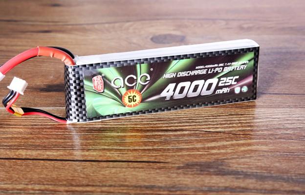 格氏ACE 4000mAh 25C 7.4V 航模电池