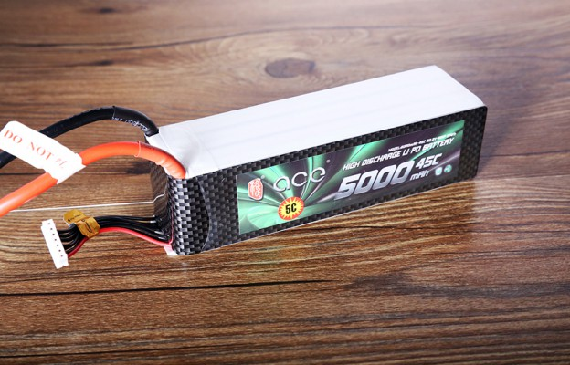 格氏ACE 5000mAh 45C 22.2V 航模电池