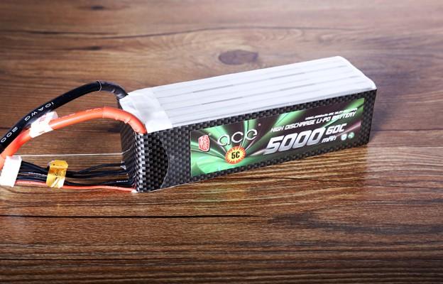 格氏ACE 5000mAh 60C 22.2V 航模电池