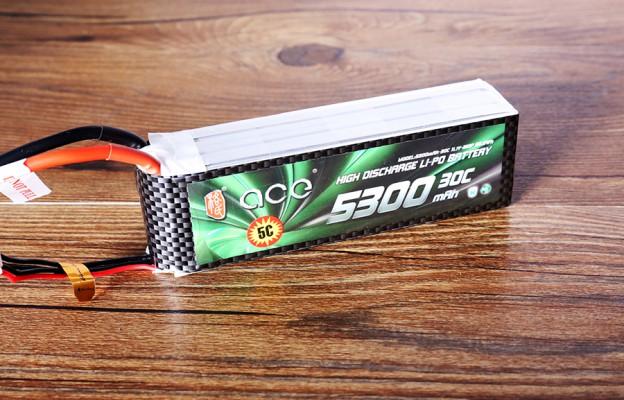 格氏ACE 5300mAh 30C 11.1V 航模电池