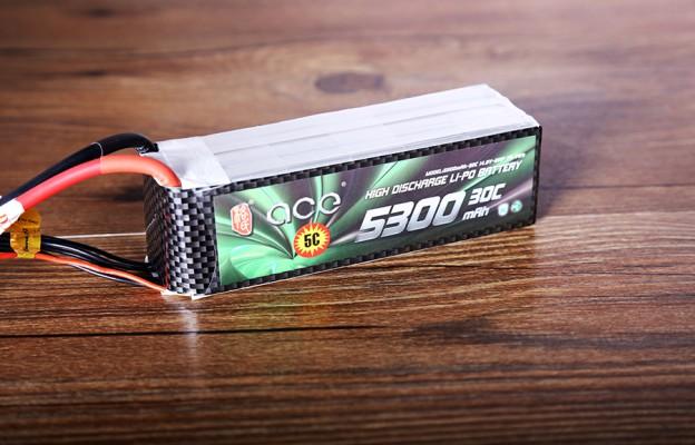 格氏ACE 5300mAh 30C 14.8V 航模电池