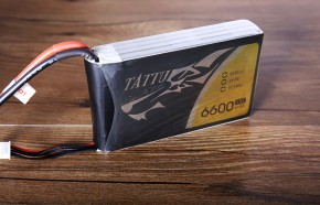 6600mAh四轴六轴无人机电池通用版_TATTU