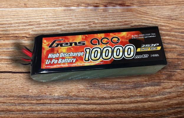 格氏ACE 10000mAh 25C 7.4V车模电池
