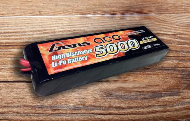 格氏ACE 5000mAh 25C 7.4V车模电池