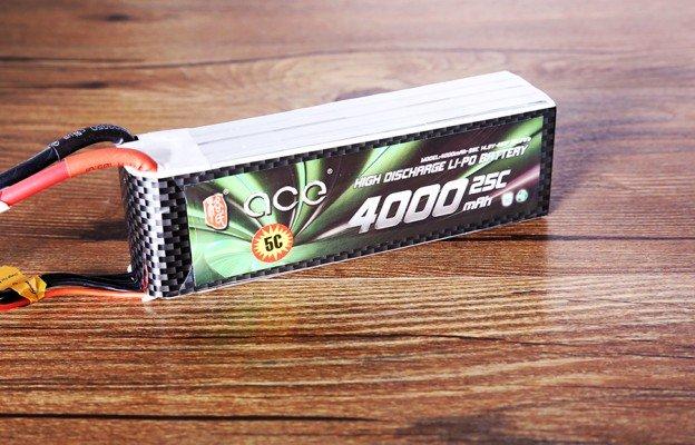 格氏ACE航模电池_4000mAh 25C 14.8V遥控直升飞机锂电池