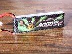 格氏ACE航模电池_4000mAh 25C 7.4V固定翼锂电池无人机发射电