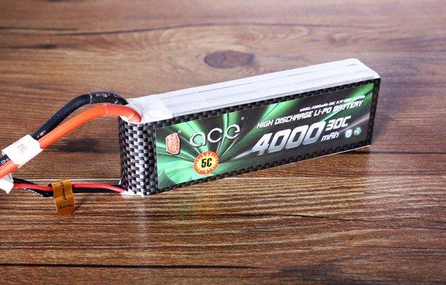 格氏ACE 4000mAh 30C 11.1V 大型固定翼航模锂电池