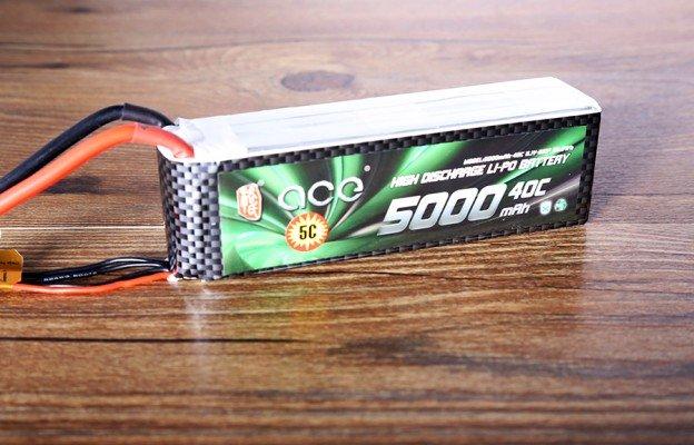 5000mAh大容量航模电池-固定翼飞行器用锂电池