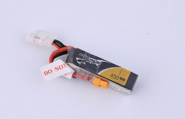 TATTU FPV无人机电池450mAh 14.8V 75C 3S1P通用系列电池